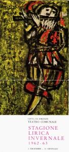 Luzzati 1962-63 Firenze