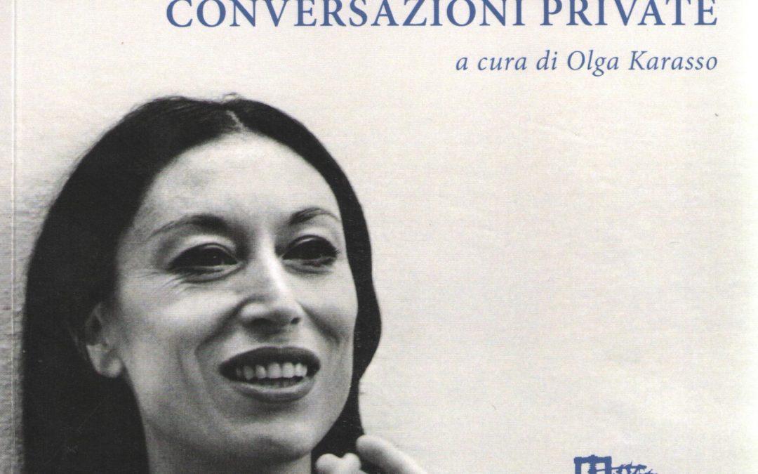 CONVERSAZIONI PRIVATE – Luciana Savignano con Cristiano Cassani
